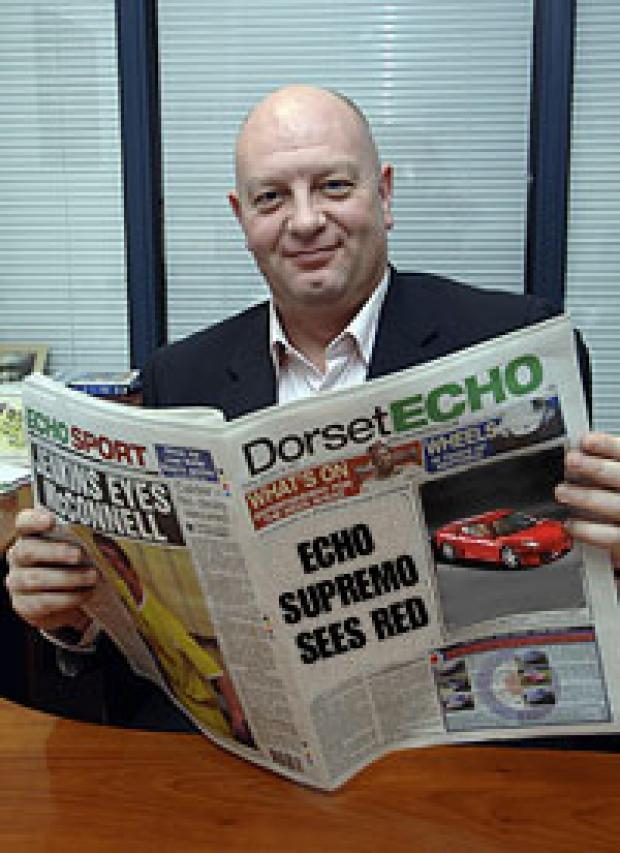 Dorset Echo MD Paul Kinvig