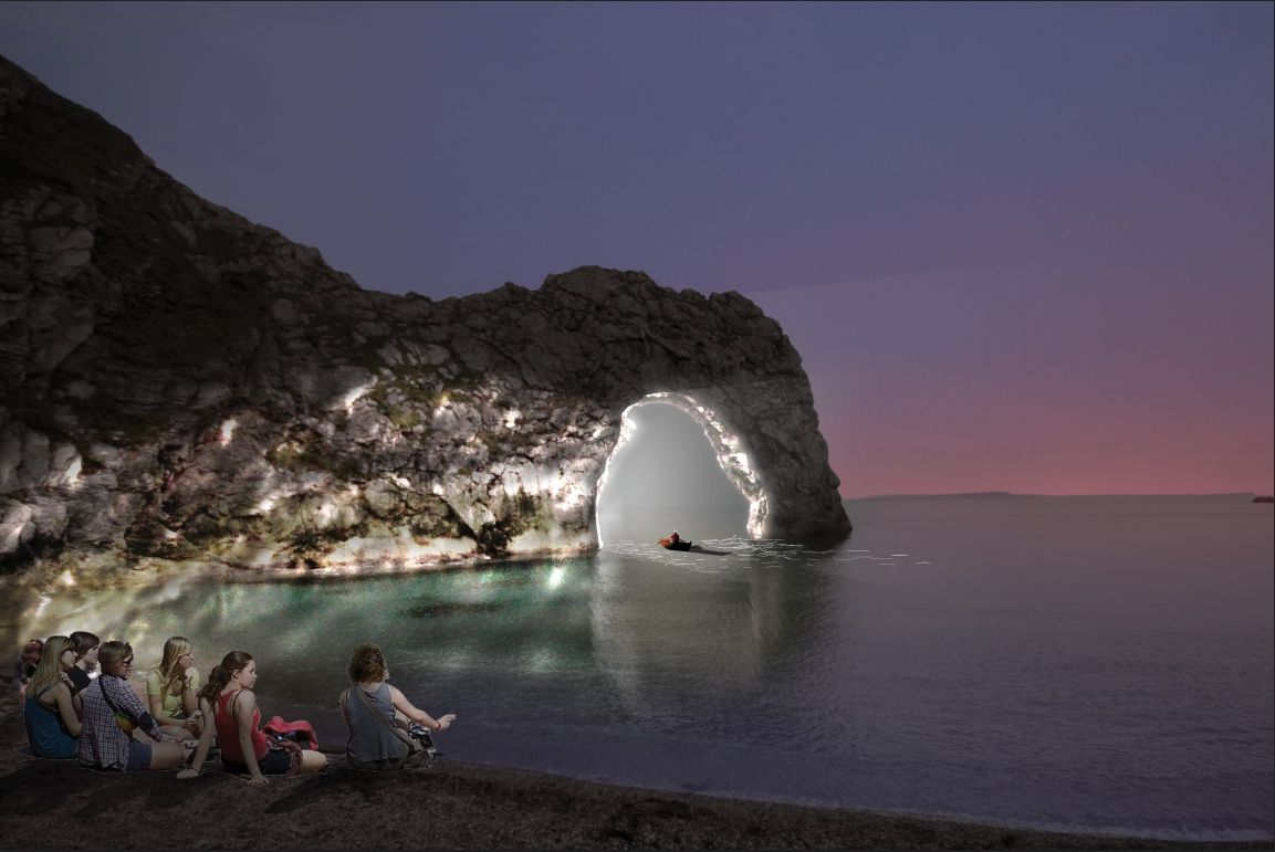 Picture Michael Grubb Studio & NOHL: what you need to know about Durdle Door being illuminated for ...