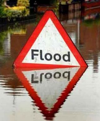 BE ALERT: The west coast of Dorset is on 'flood alert'