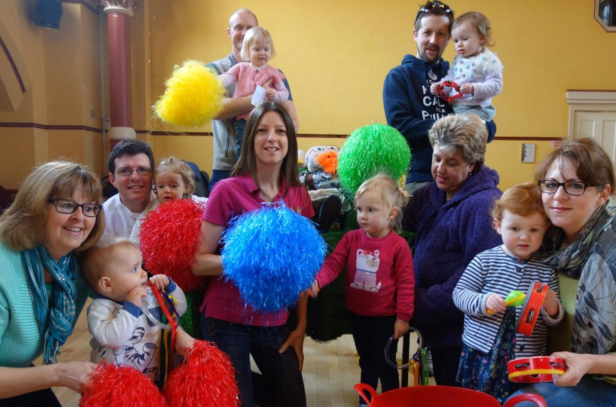Bop along to new baby and toddle dance group