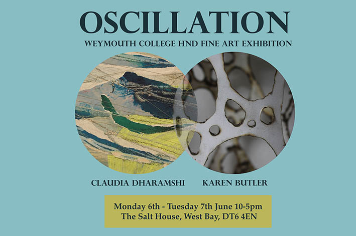 Oscillation: Weymouth College Fine Art HND Exhibition