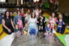 Babies in Dorchester are taking part in a 'sensathon', wearing superhero costumes, singing and dancing, 15/06/2016, PICTURE: FINNBARR WEBSTER/F18222