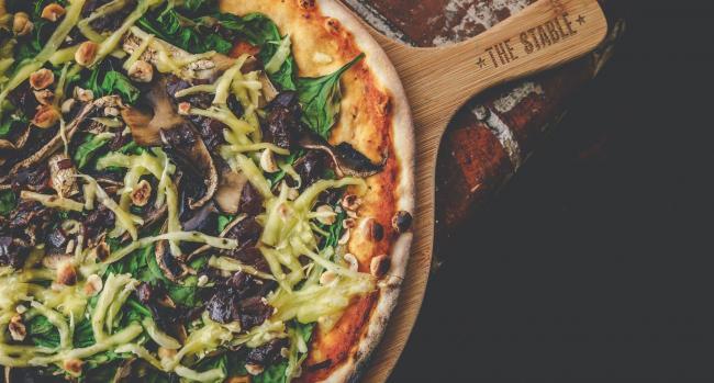 Vegan Diners Get Pizza The Action Dorset Echo