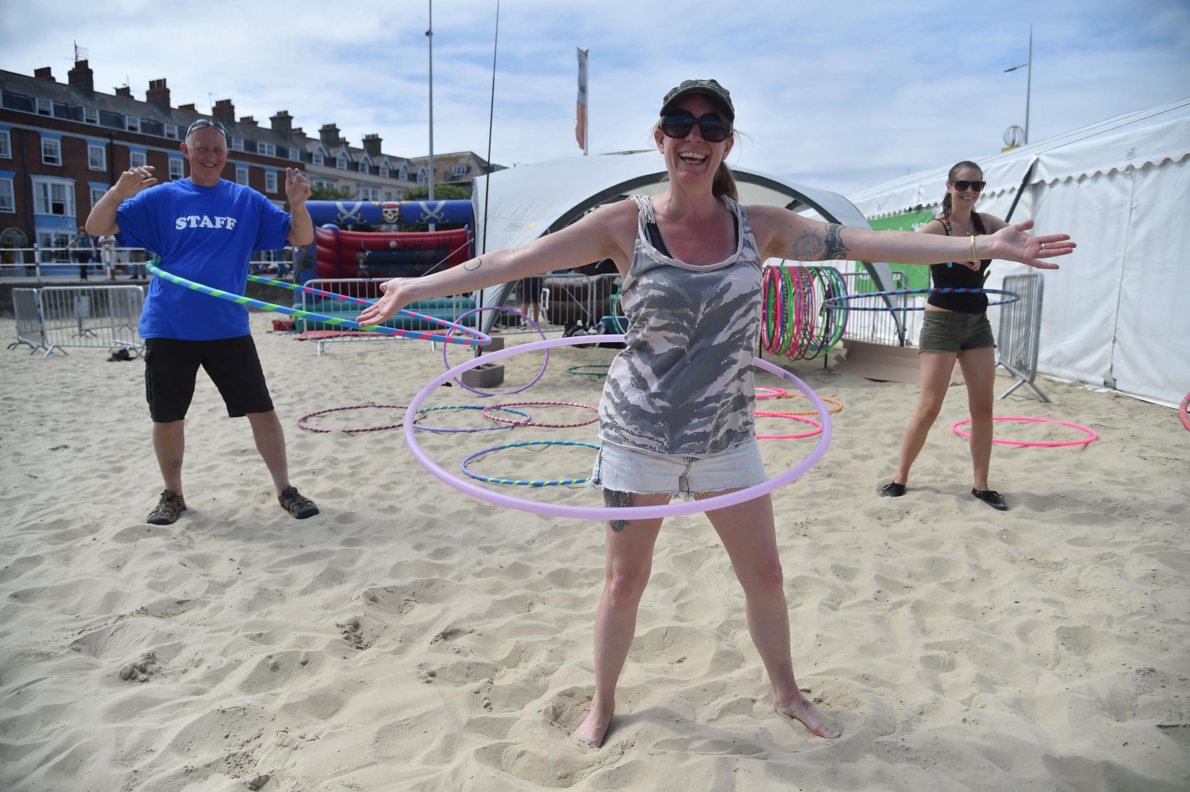 Hula hoop your way to a healthier lifestyle and Have a Go this weekend