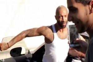 Joe Budden chased two kids down his street after they shouted 'OVO' at him