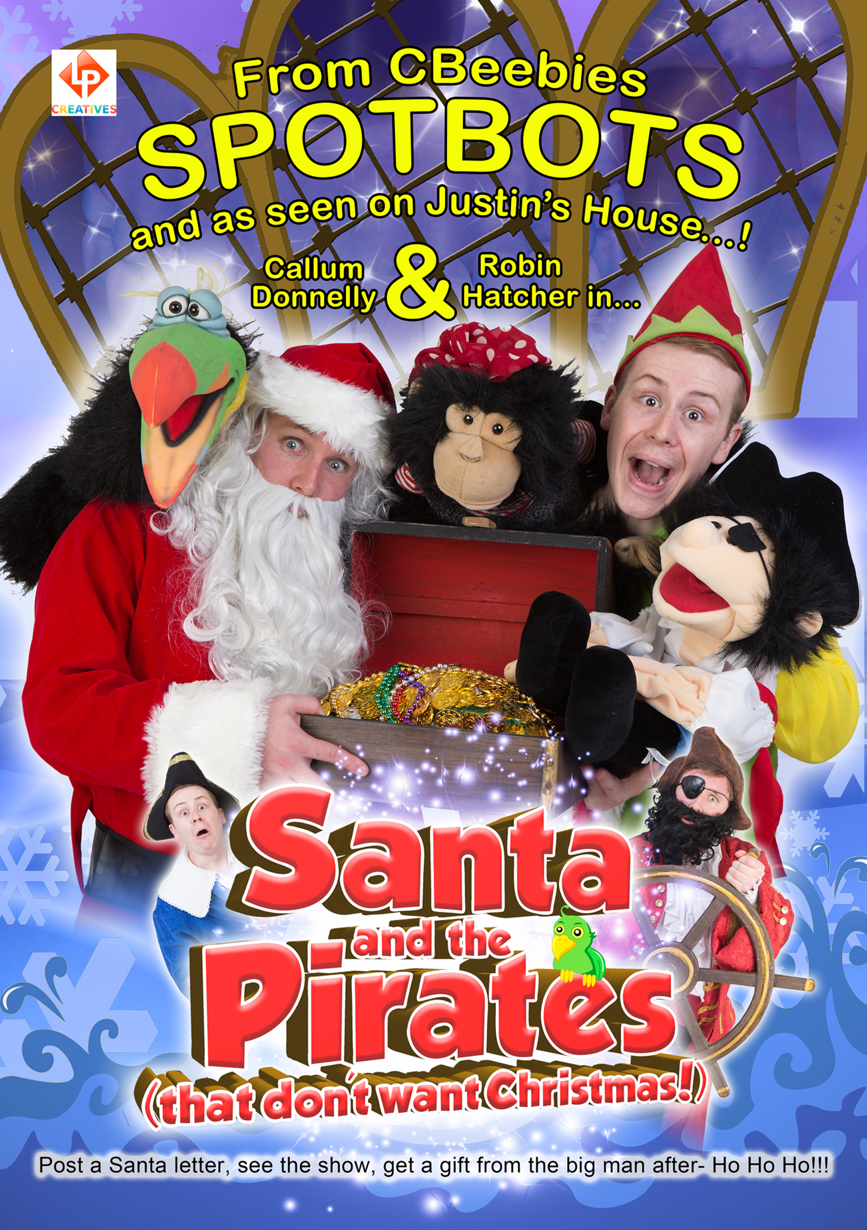 Santa and the Pirates (that don't want Christmas!)