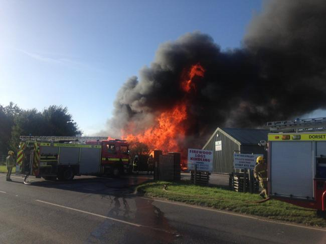 Picture from Dorset & Wiltshire Fire and Rescue Service