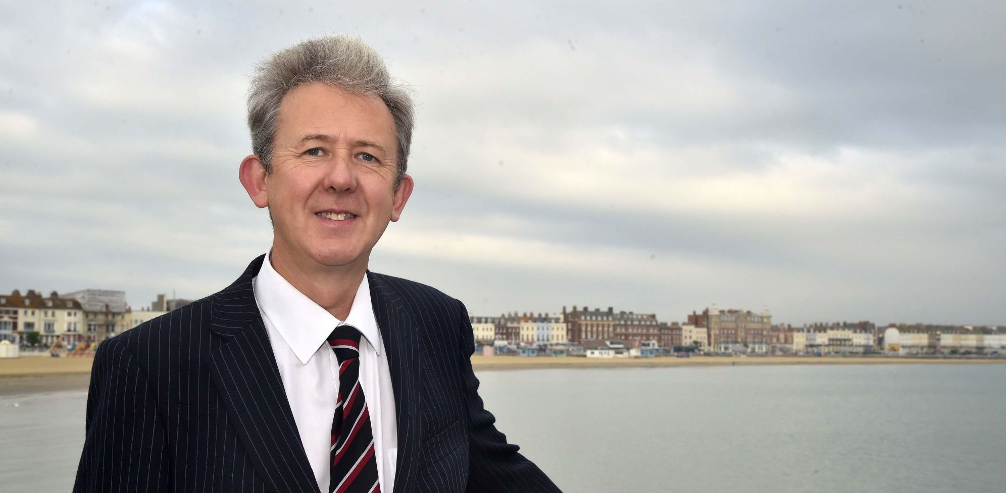 OPPORTUNITY: Solicitor Stephen Jones who is at the helm of the Weymouth office                                                                         Picture: GRAHAM HUNT