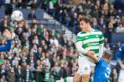 Erik Sviatchenko, pictured right, had this goal disallowed against Rangers