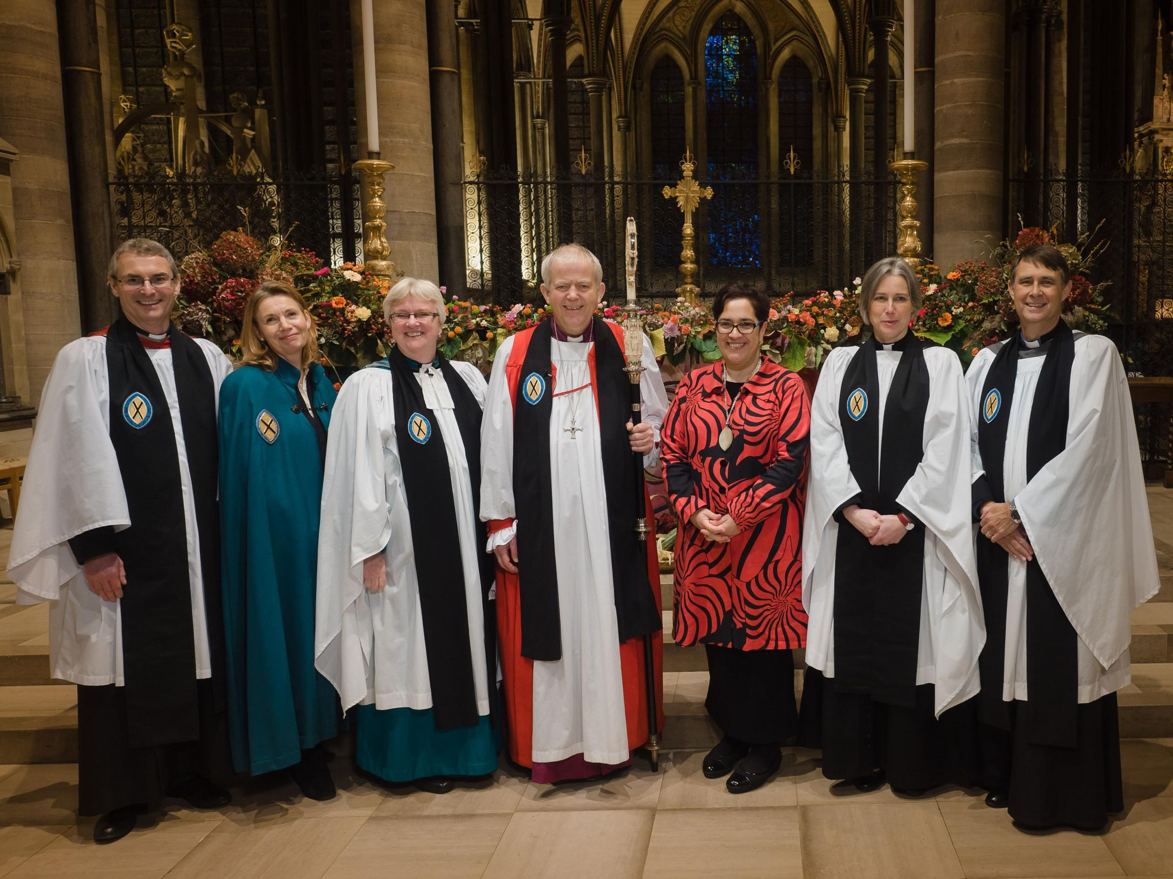 Loretta Minghella appointed in an Evensong ceremony Picture: Salisbury Cathedral