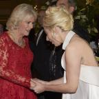 Dorset Echo: Duchess of Cornwall tells Lady Gaga 'my grandchildren call me Gaga'