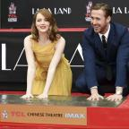 Dorset Echo: Film stars Ryan Gosling and Emma Stone immortalised on Hollywood Boulevard
