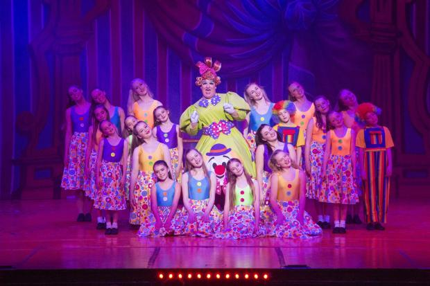 Dorset Echo: SUPPORT: The dancers brought the production to life   Picture: Weymouth Pavilion