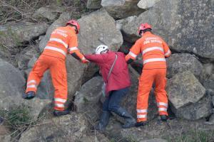 Woman rescued from quarry near Portland Bill