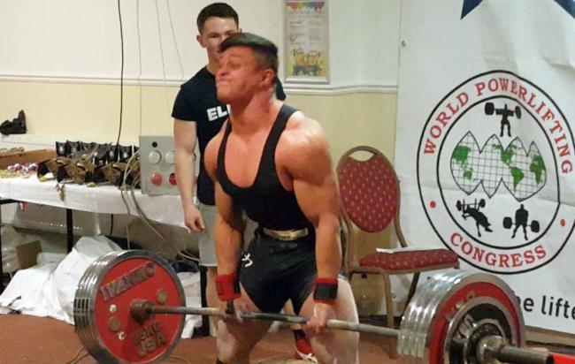 Weightlifting: 17-year-old Luke Tolman breaks four world