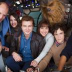 Dorset Echo: Han Solo movie cast together as filming of Star Wars spin-off begins