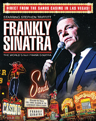 WIN: Tickets to see Frankly Sinatra at the Pavilion!