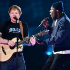Dorset Echo: Stormzy joins Ed Sheeran for an impromptu collaboration at the Brit Awards and fans absolutely love it