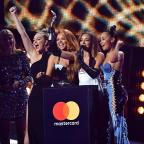 Dorset Echo: Little Mix give shout out to their exes as they collect Brit Award for Best Single