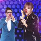 Dorset Echo: Mel and Sue share Red Nose snap ahead of Let's Sing And Dance For Comic Relief