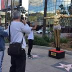 Dorset Echo: Gold statue of Kanye West as Jesus unveiled by British artist in Hollywood