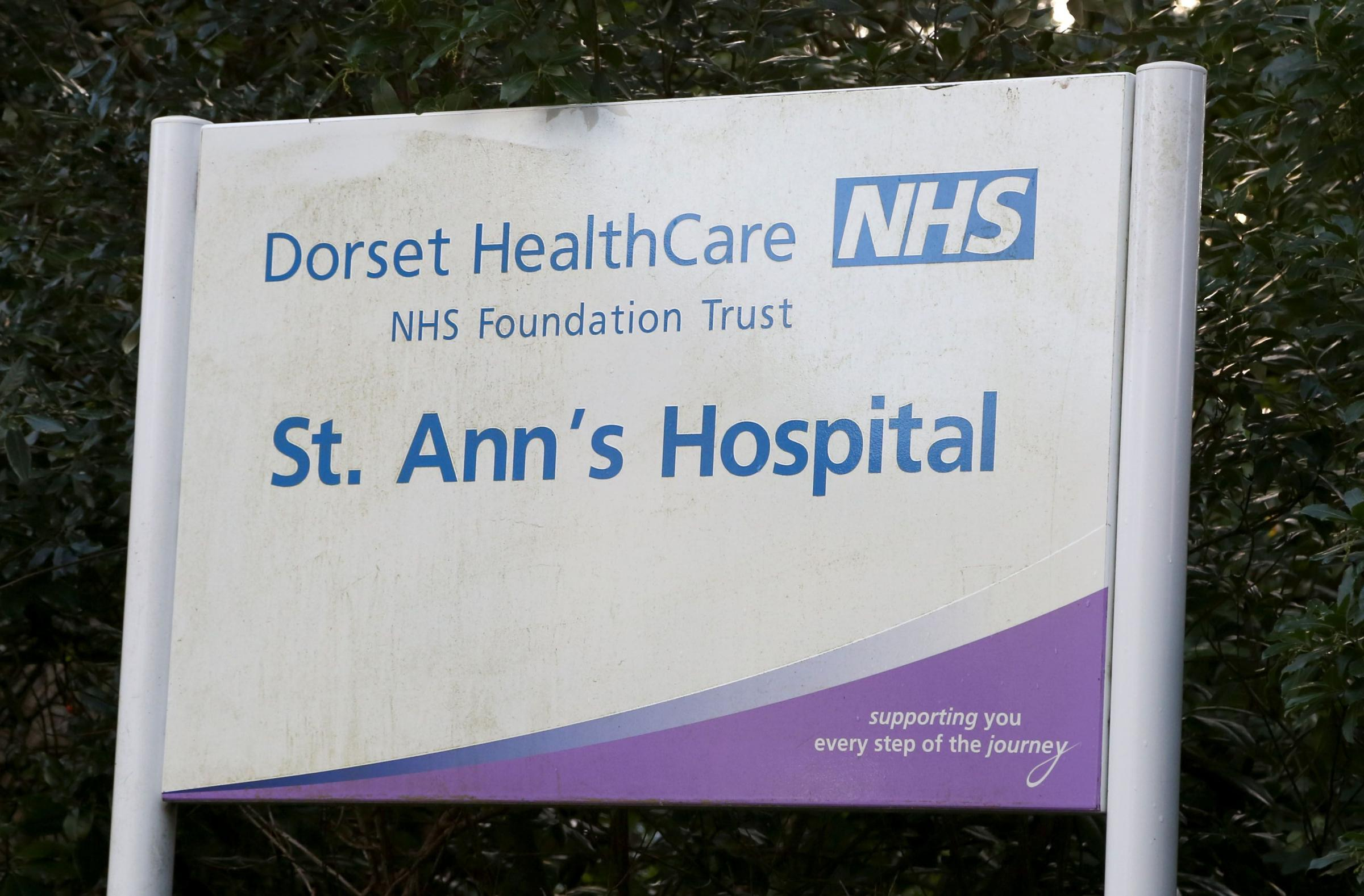 St Ann's Hospital in Poole.