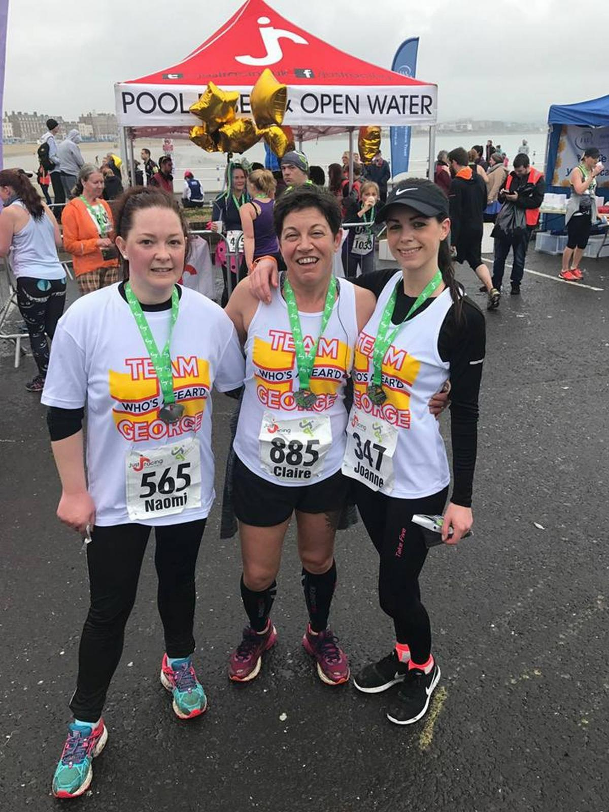 Hundreds of runners take to the streets in weymouth half marathon updated hundreds of runners take to the streets in weymouth half marathon malvernweather Images