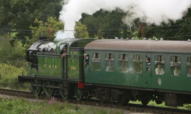 Enjoy an outing on award-winning the Swanage Steam Railway