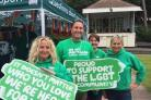 SUPPORT: Macmillan team at a community event in Dorset Picture: Macmillan