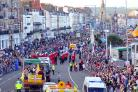 COMMUNITY: Weymouth Carnival helps raise money for local charities each year during the procession     Photo credit: Finnbarr Webster.