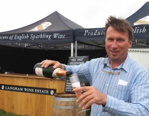 Dorset Echo: From vine to glass: Grape expectations for Langham Wine Estate's fizz