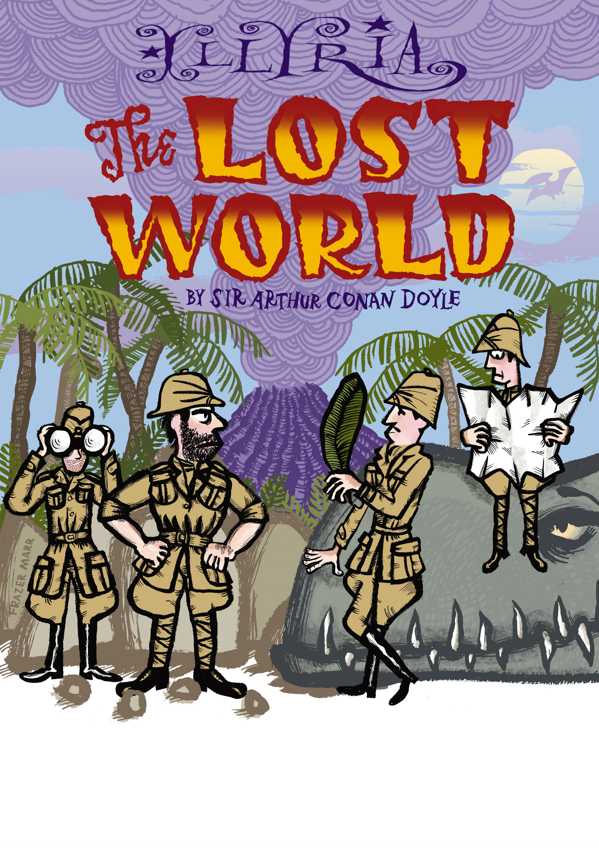Illyria performance of The Lost World