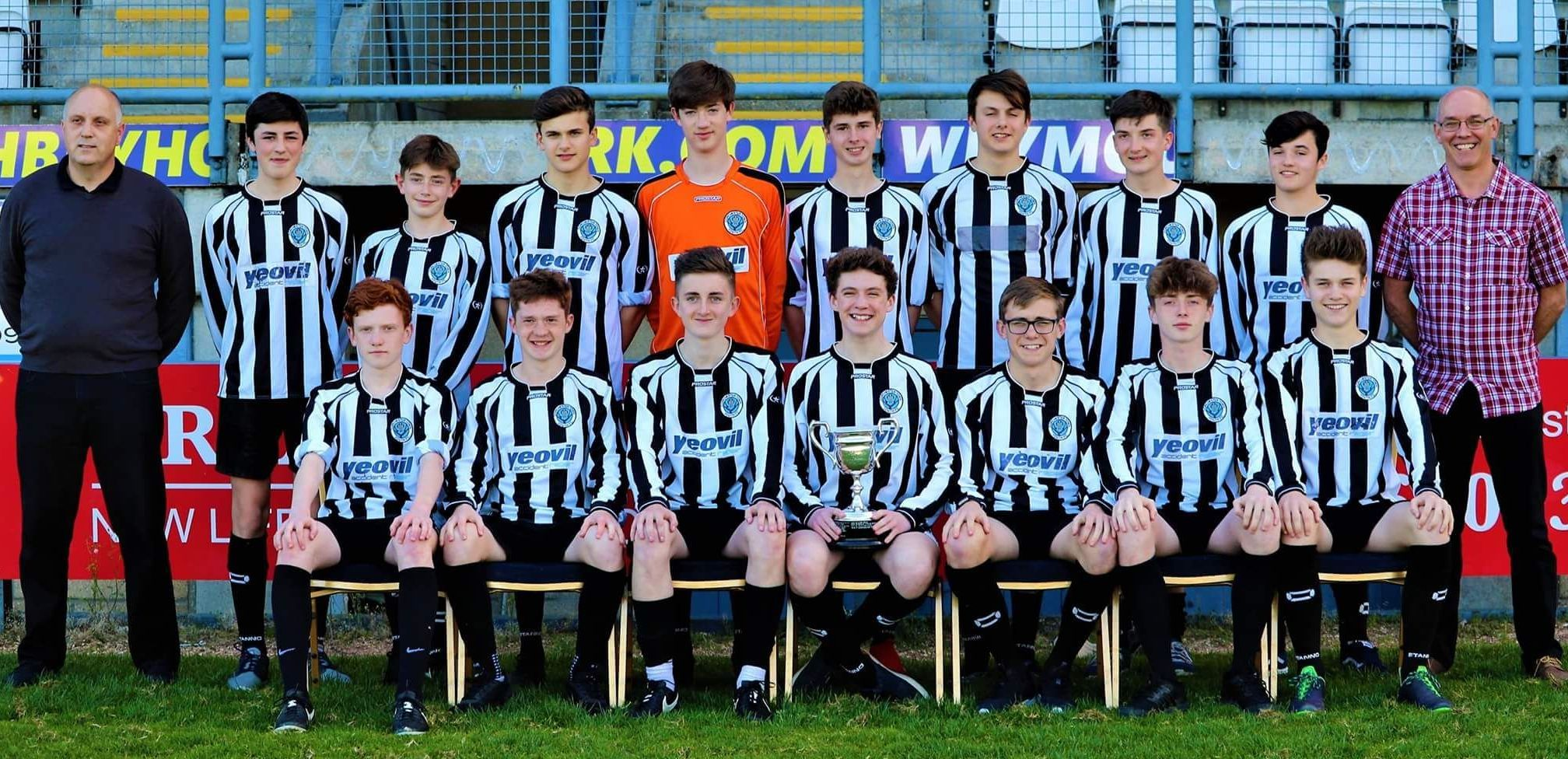 CHAMPIONS: Dorchester Town Raiders Under-16s