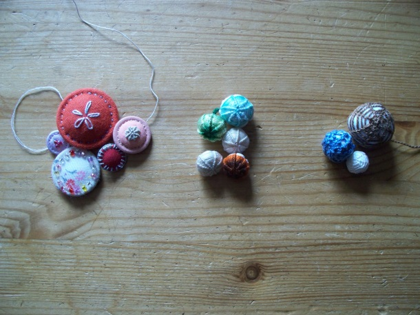 Dorset Button Workshop: Fabric Based Buttons