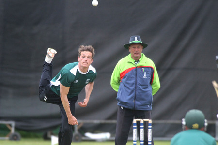 CREDIT: Dorset all-rounder Josh Digby took 2-91 before reaching 15 not out at the close Picture: SAM SHELDON