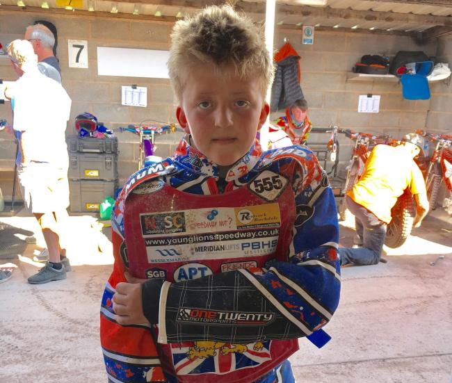 Sam Peters made great strides in his latest British Youth Championships outing at Leicester.