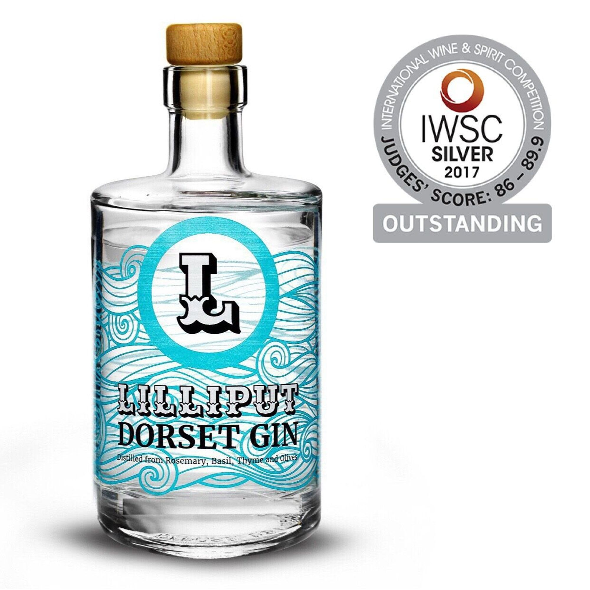AWARD-WINNING: Lilliput Dorset Gin