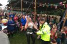 A policeman became an internet hit after he was filmed 'dad dancing' at Camp Bestival