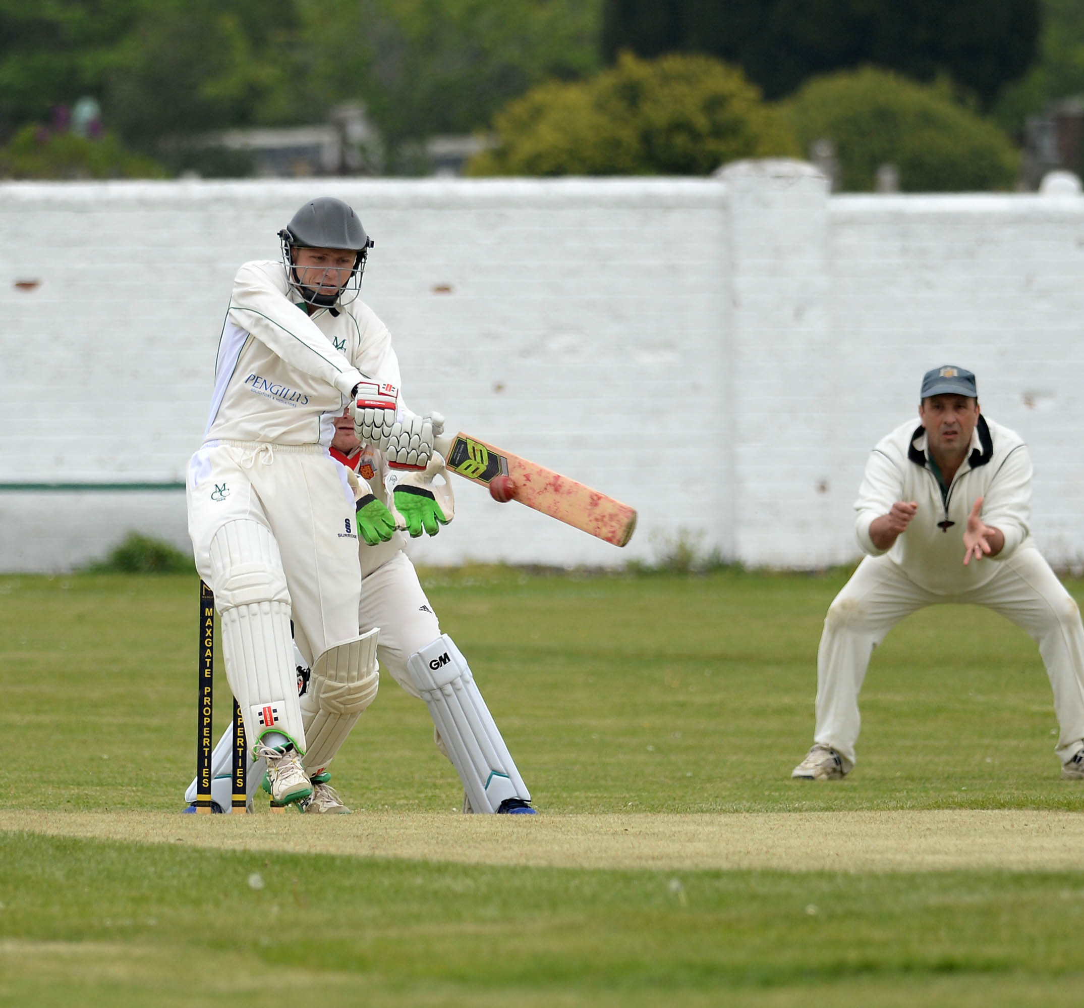 OPENER: Ed Nichols led the Dorset Leopards to victory