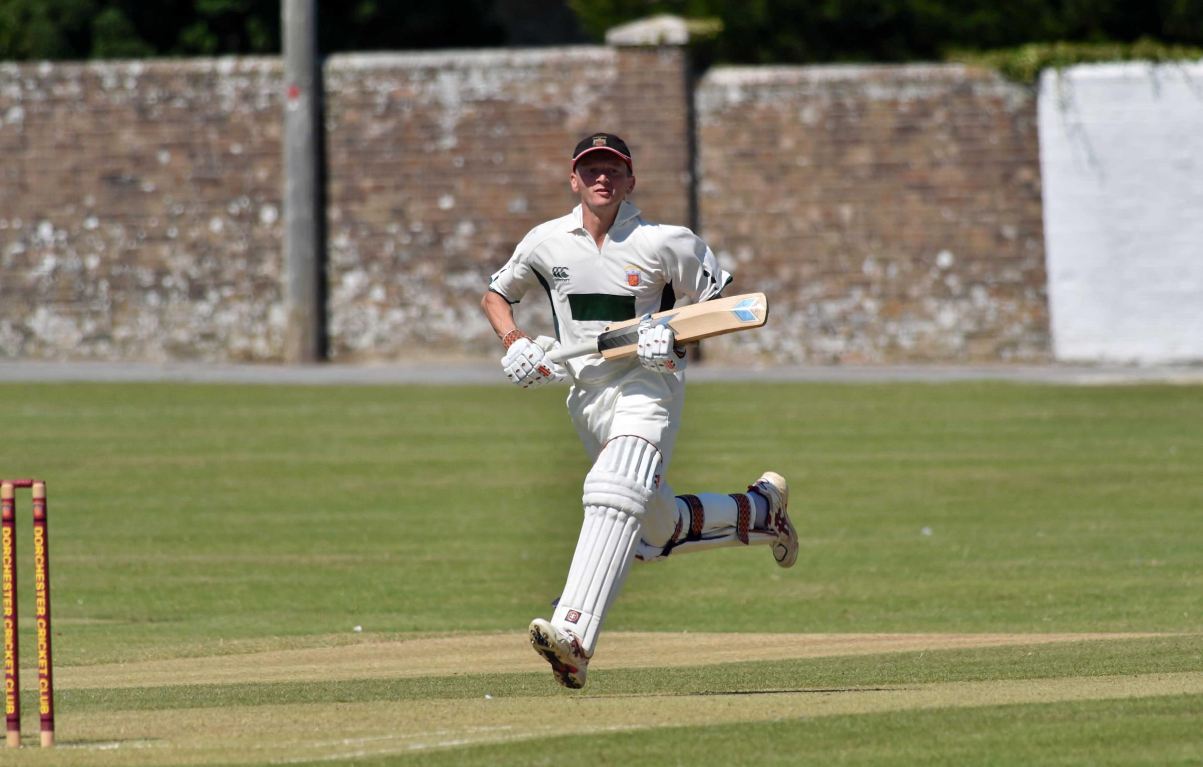 FIFTY: Mike Peak hit 57 for Dorchester against Swanage at Redlands. Picture GRAHAM HUNT/HG13353