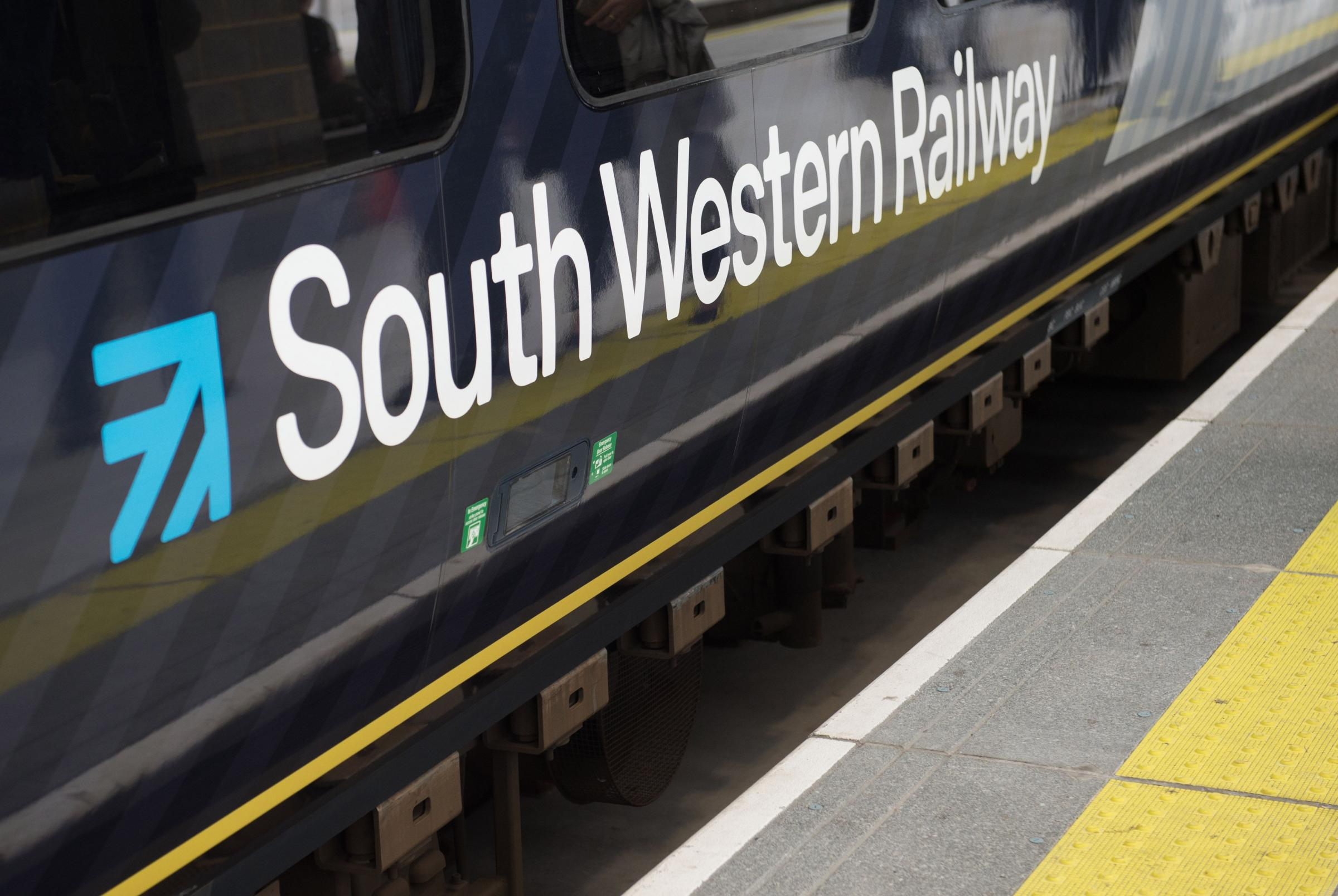 Train delays following trespasser on the line