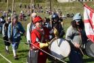 Civil War: Beseiged and Betrayed Reenactment at Corfe Castle.
