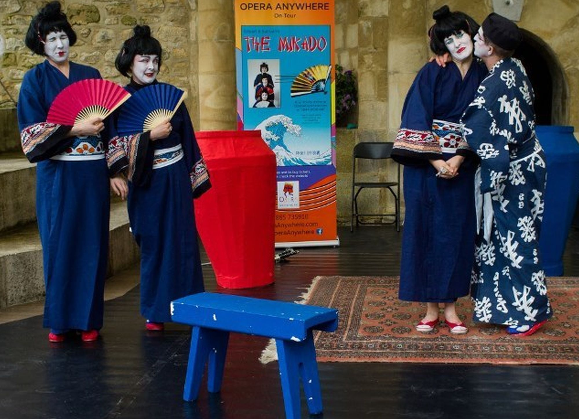 STAGE: Opera Anywhere is staging the Mikado in Dorchester