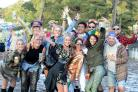 EXTRAVAGANZA: Festivalgoers enjoy themselves at 2017 Bestival