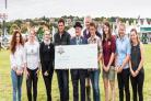 HELPING HAND: Students helped by the Melplash Agricultural Society's bursary scheme 2017
