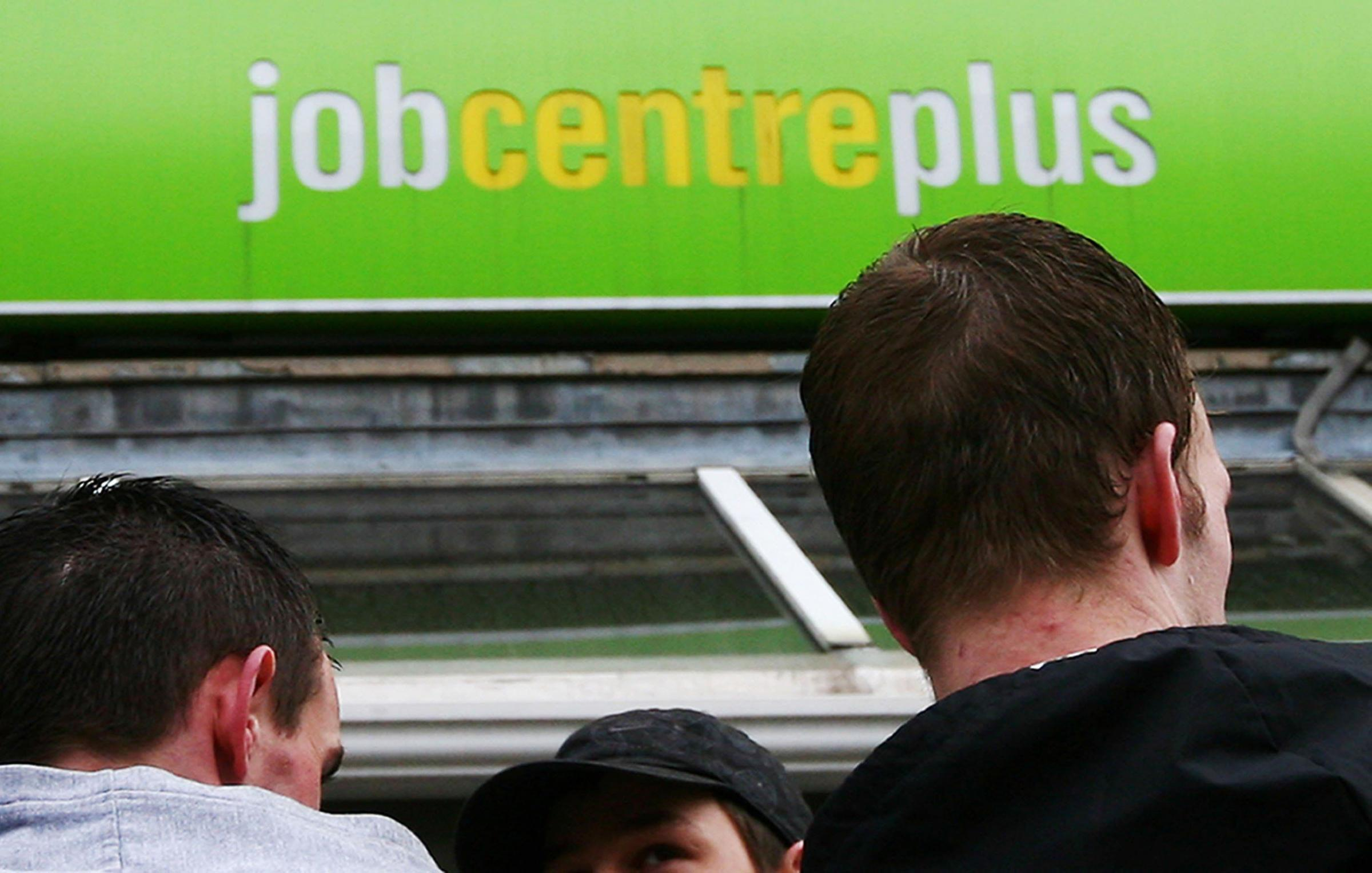 File photo dated 19/03/09 of a Job Centre Plus Photo creditGareth Fuller/PA Wire