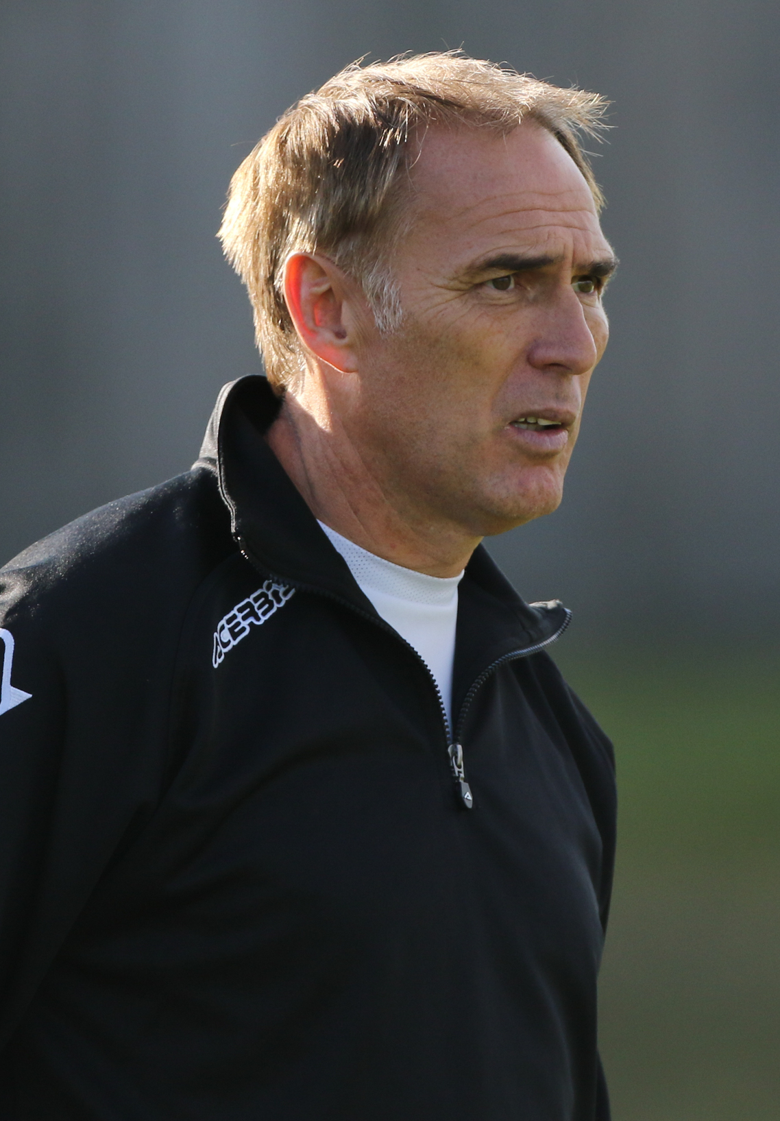 CASTING AN EYE: Dorchester boss Steve Thompson