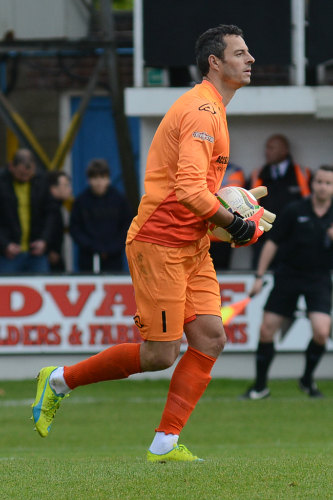 EX-MAGPIE: Former Dorchester Town goalkeeper Chris Weale            Picture: PHILLIP STANDFIELD