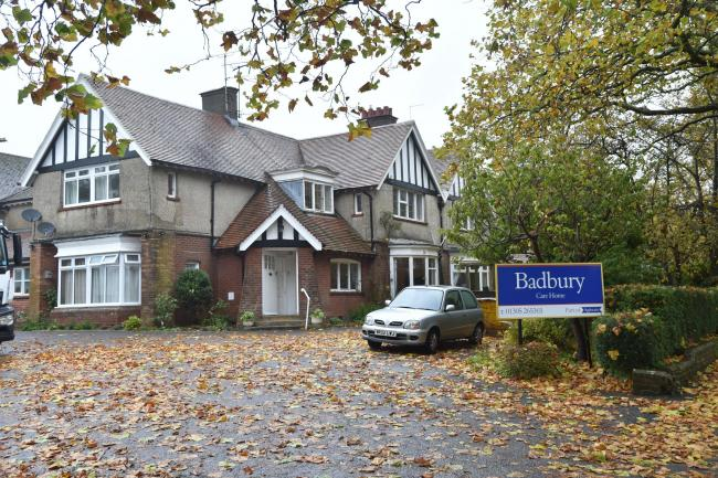 INADEQUATE Badbury Care Home In Dorchester Was Rated Inadequate At A Recent Inspection
