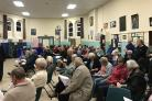 Hundreds of residents packed in to the Park Centre in Weymouth